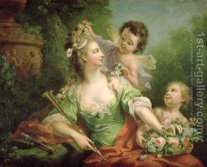 Johann Heinrich The Elder Tischbein - The Muse Euterpe, 1782